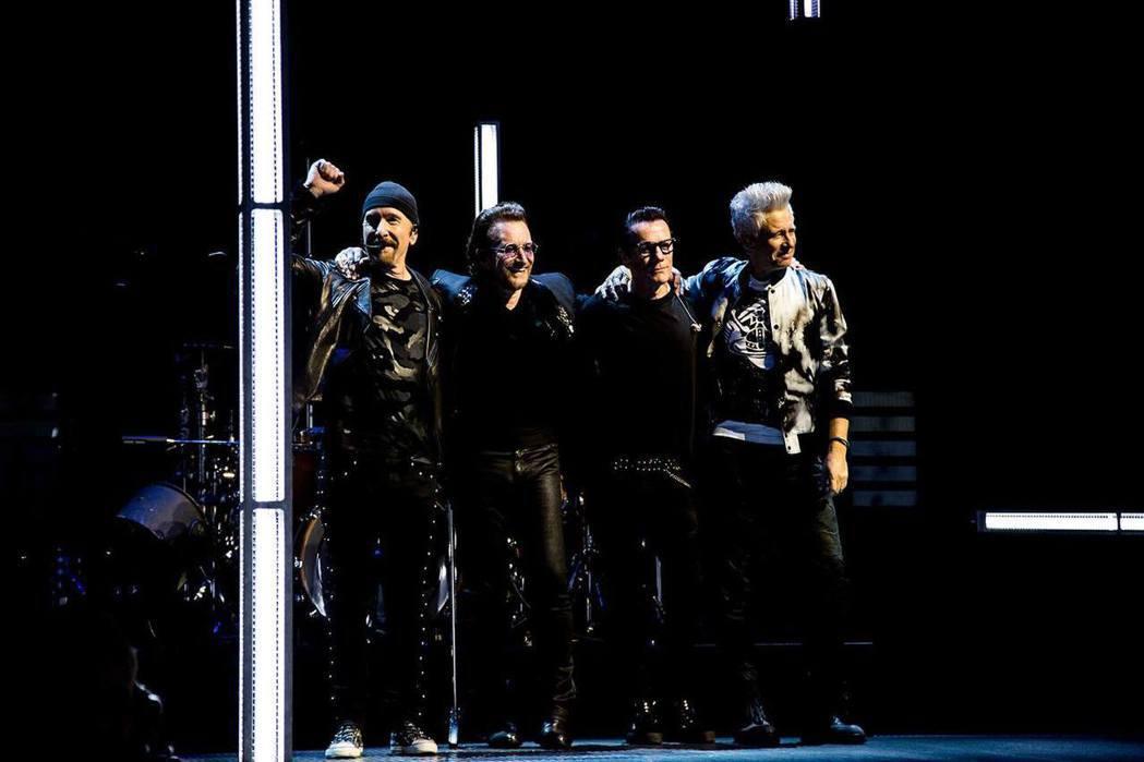 愛爾蘭天團U2。圖/擷自臉書