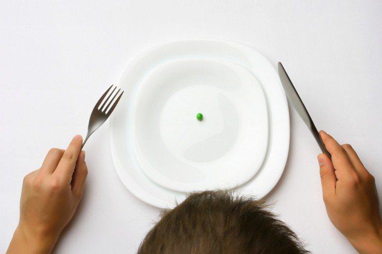 節食、減肥、禁食示意圖。圖/ingimage