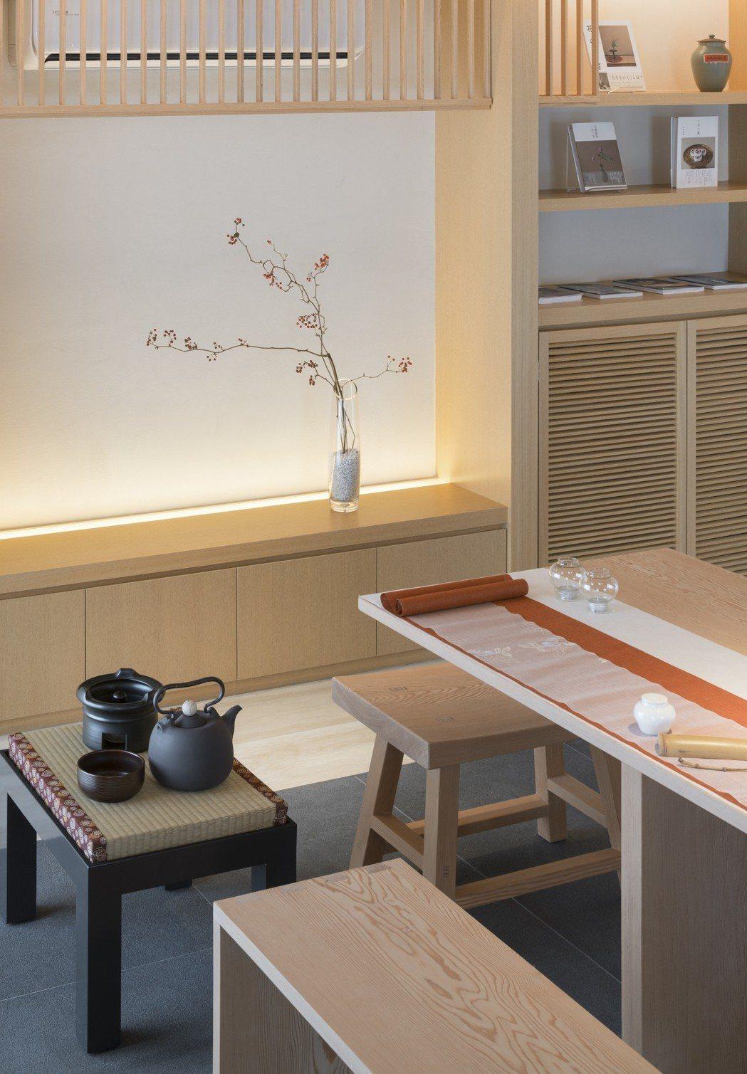 富有東方味的茶屋,別名「杯茗」。 圖/福樺建設提供