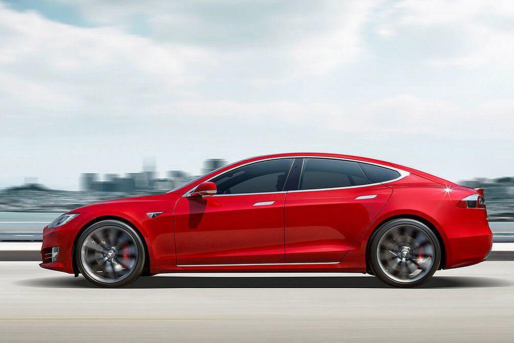 Tesla Model S。 圖/Tesla提供