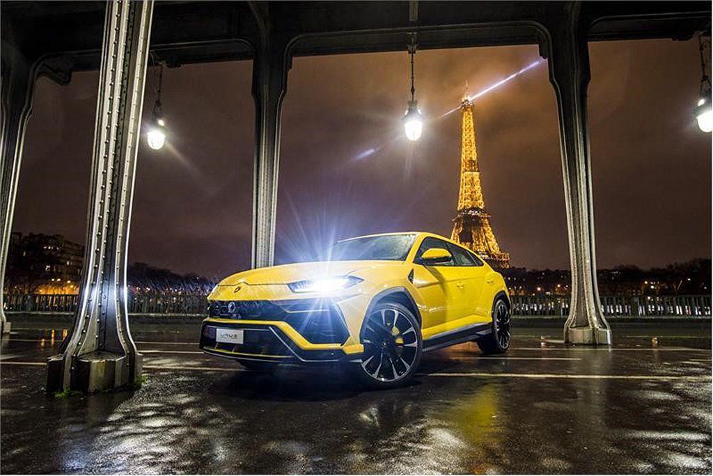Lamborghini Urus。 圖/Lamborghini提供