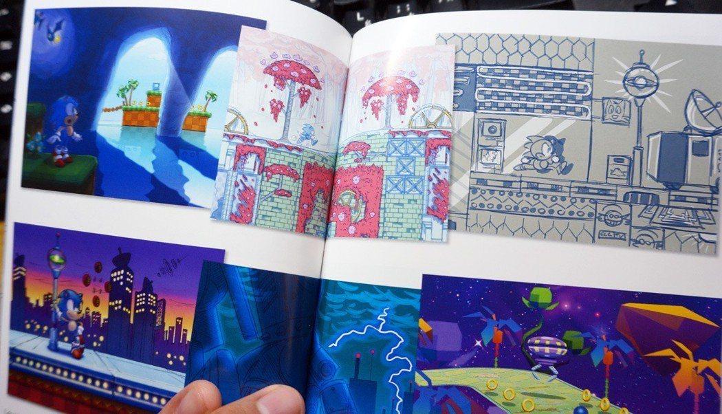 限定版裡面附有原畫冊,記載遊戲裡頭的各項場景彩稿以及分鏡圖等等。