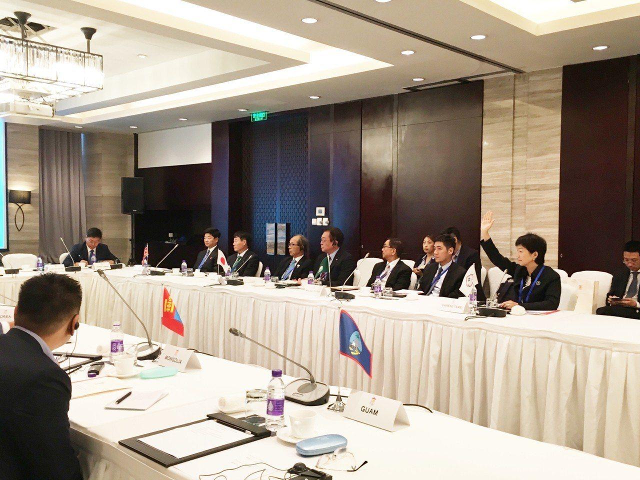 東亞奧林匹克委員會(EAOC)昨天召開臨時理事會,以舉手表決方式決議取消2019...