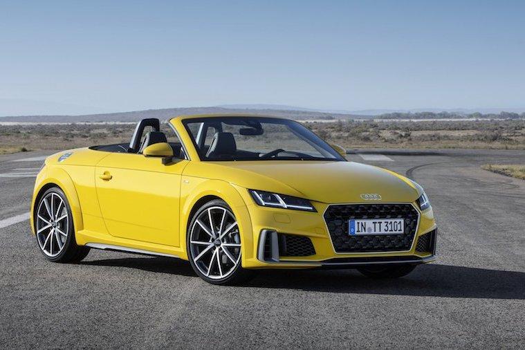 Audi TT小改款發佈 原來TT車系已上市20年!