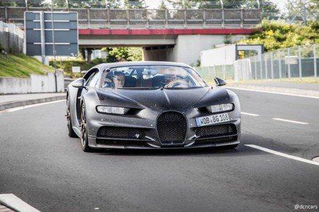 是新一代山豬王嗎!? 沒掛廠徽的Bugatti現身紐柏林