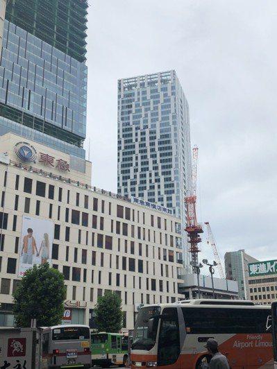 澀谷車站周邊再開發計畫,帶動周邊商辦及住宅需求。圖/台灣房屋提供