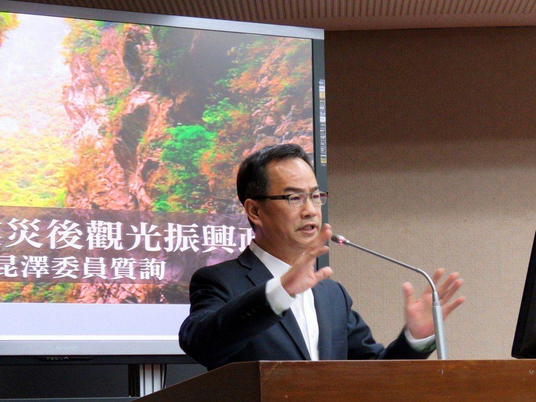 民進黨立委李昆澤。聯合報系資料照