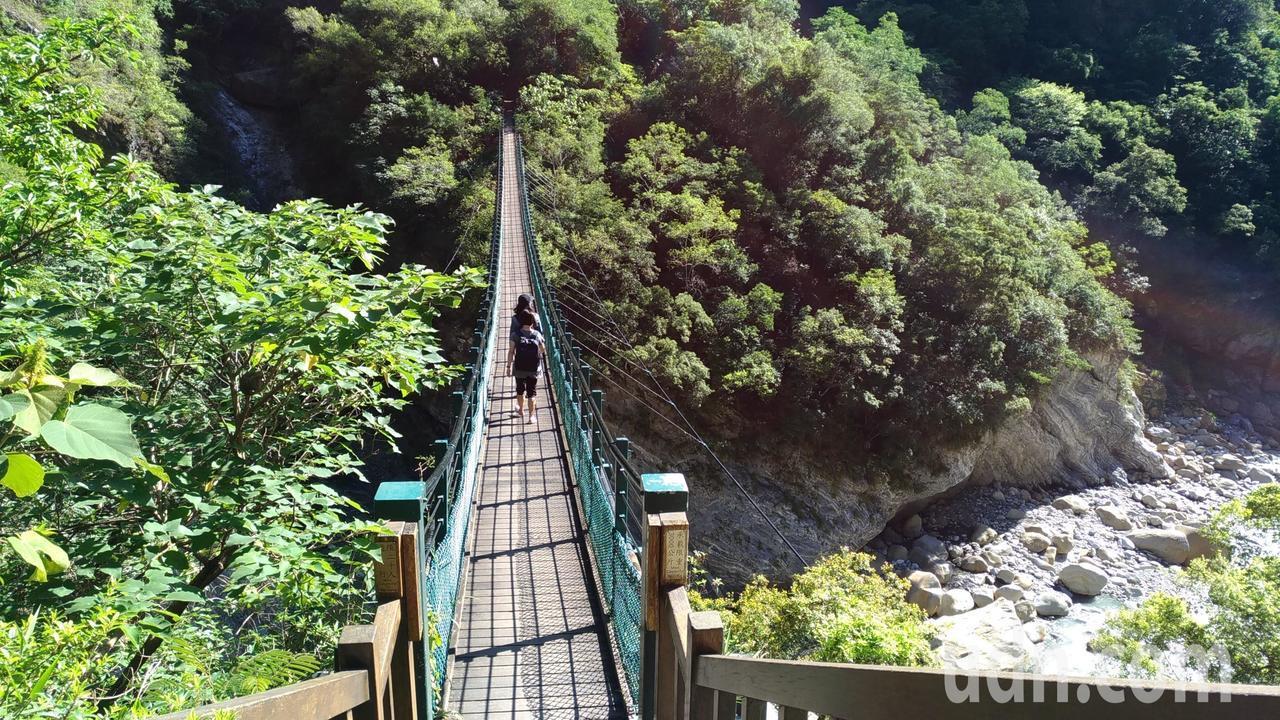 錐麓古道從錐麓吊橋起登。記者楊德宜/攝影