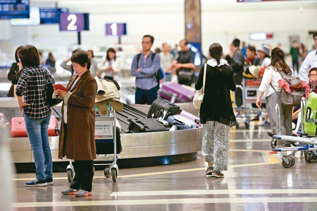 正值暑假旅遊旺季,國人出國採買當地零食時,不妨先弄清楚重量限制相關規範。報系資料...