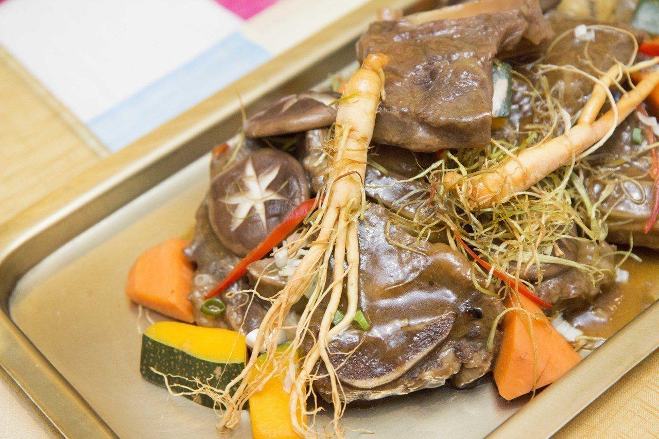 「寺剎料理」在烹調技法與食材上,以養生為主。圖/台北君悅酒店提供