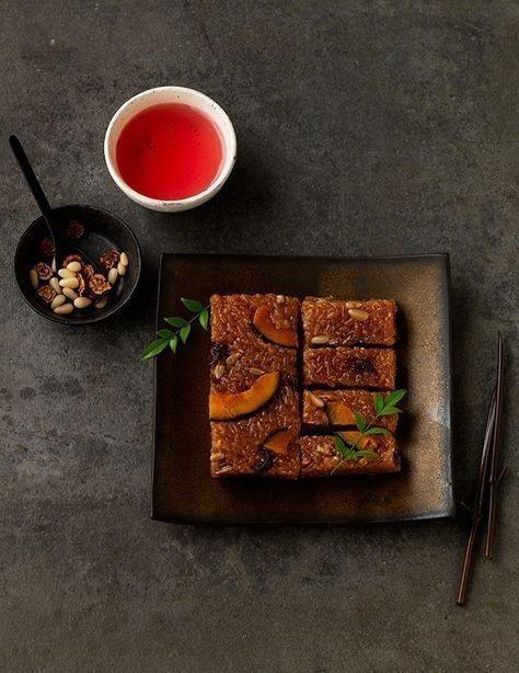 紅棗松子甜米糕。圖/台北君悅酒店提供