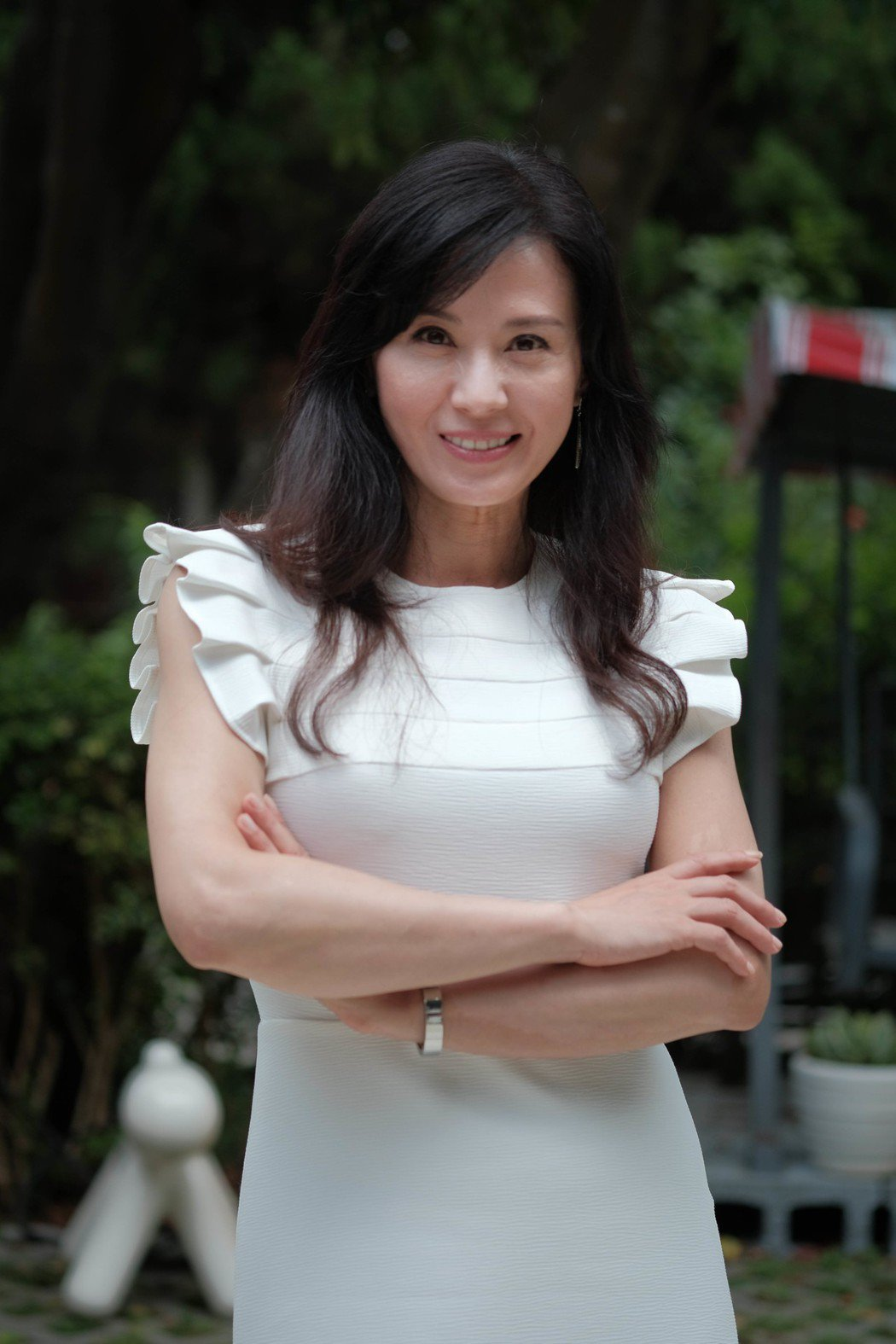 涂善妮自稱在戀愛中「不浪漫」。圖/TVBS提供