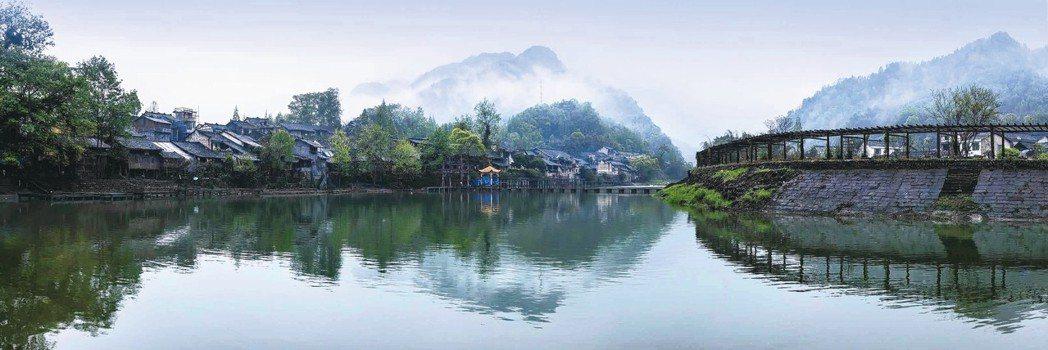 柳江古鎮的家族莊園。