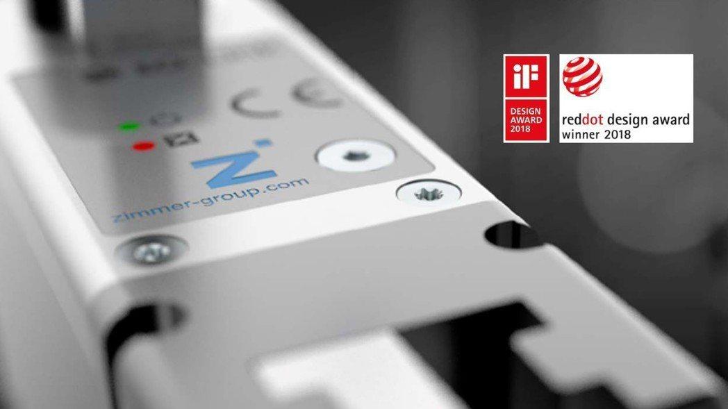 極馬亞洲展出榮獲Red Dot與iF設計大獎的GEP2000系列電動機械夾爪。 ...