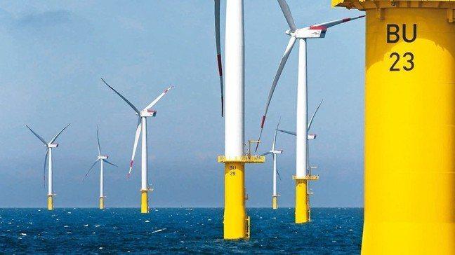 政府推動2025年非核家園,離岸風電成為全新商機。 報系資料照