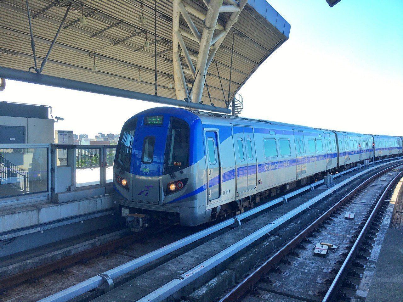 桃園捷運綠線預計今年10月開工。 中央社