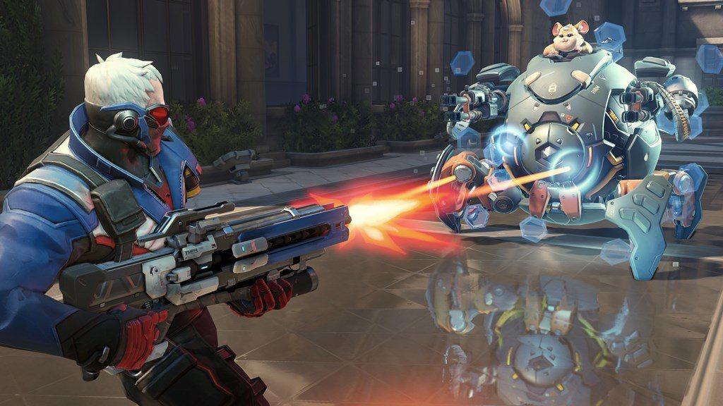 火爆鋼球可產生暫時性質的個人護盾,護盾值會依附近敵人數而提高。
