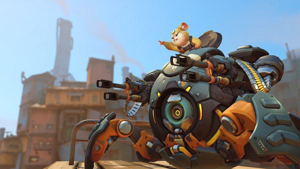 別惹毛那隻倉鼠!火爆鋼球是《鬥陣特攻》的第七個肉盾英雄。