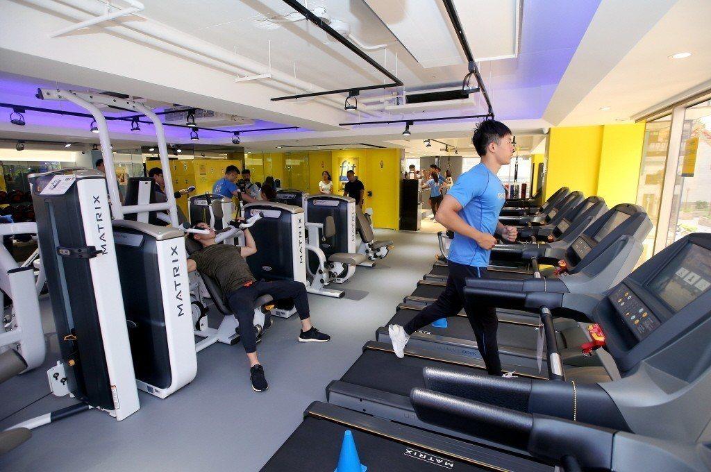 統一集團看好國內健身風氣盛行,推出首家小七運動門市。本報系資料照/記者余承翰攝影