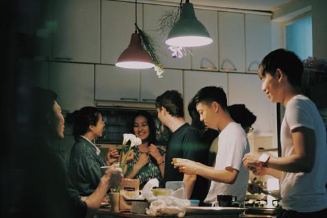 玖樓的前身是一群朋友的合租公寓。圖片來源/玖樓