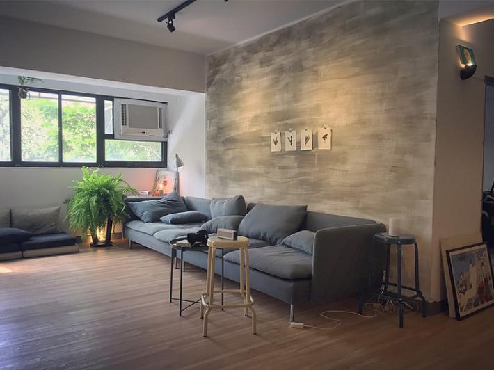玖樓位於辛亥的共生公寓。圖片來源/玖樓