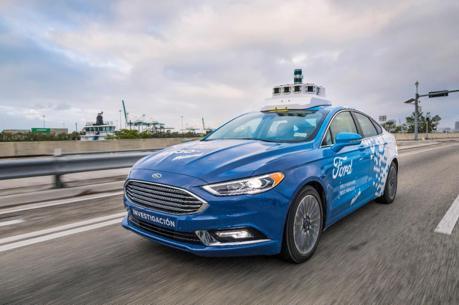 邁向未來 Ford宣佈成立自動駕駛汽車子公司