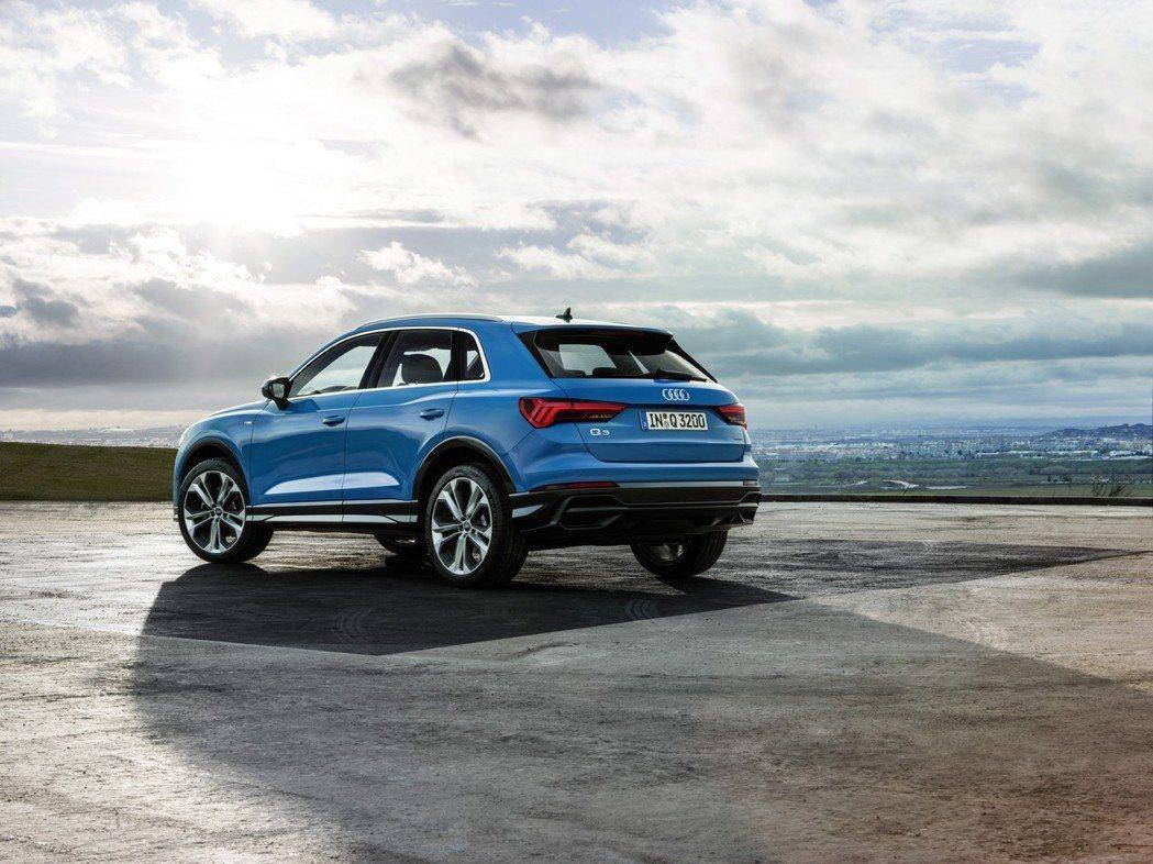 全新Audi Q3。 摘自Audi