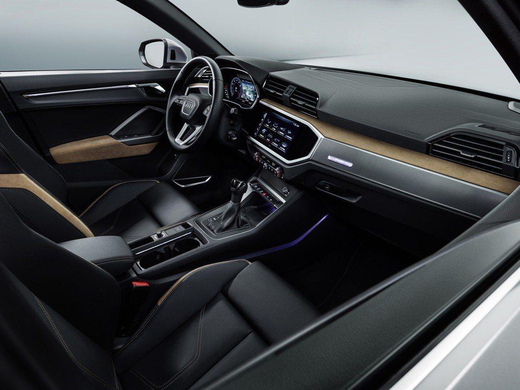 全新Audi Q3車室。 摘自Audi