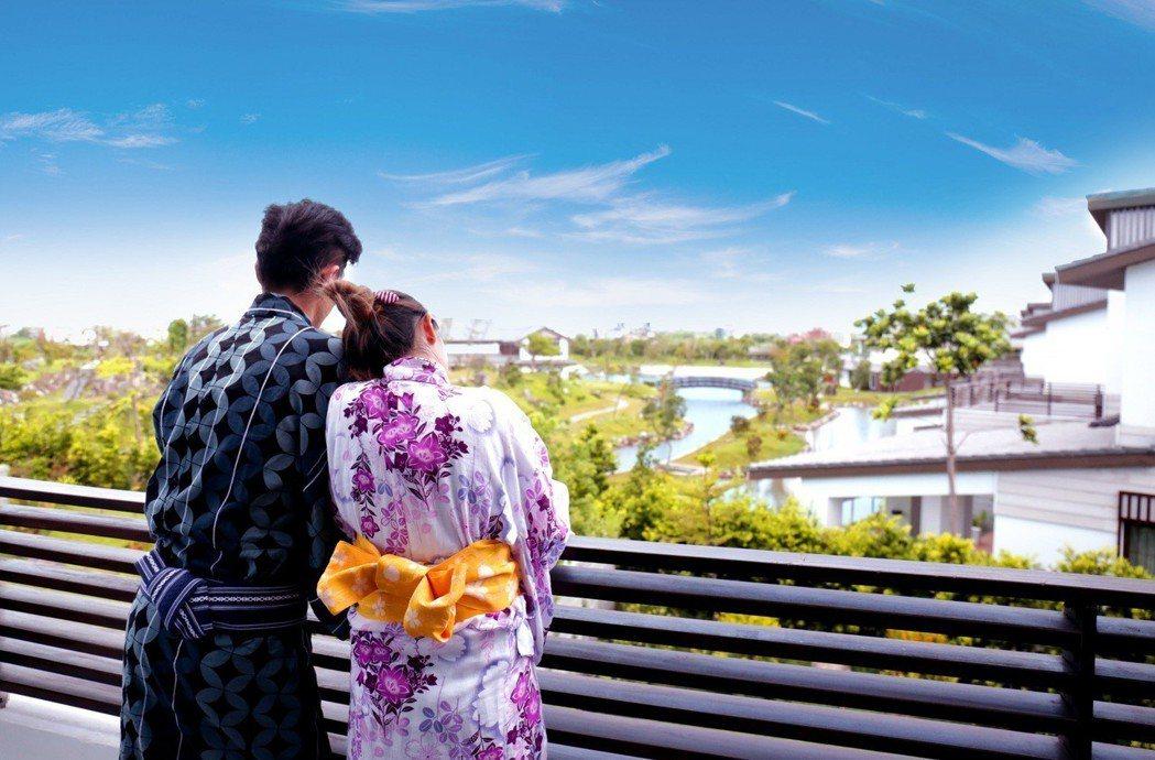 宜蘭綠舞觀光飯店7月27日至9月15日止,不論是享受兩人世界的浪漫雙人極景客房,...
