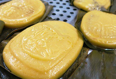 利用在地食材結合石虎意象製作的石虎粿,引人垂涎。圖/苗栗縣自然生態學會提供