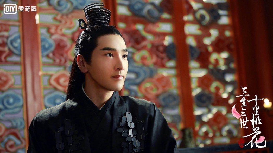 趙又廷在「三生三世十里桃花」中被讚「整容級演技」。圖/愛奇藝台灣站提供