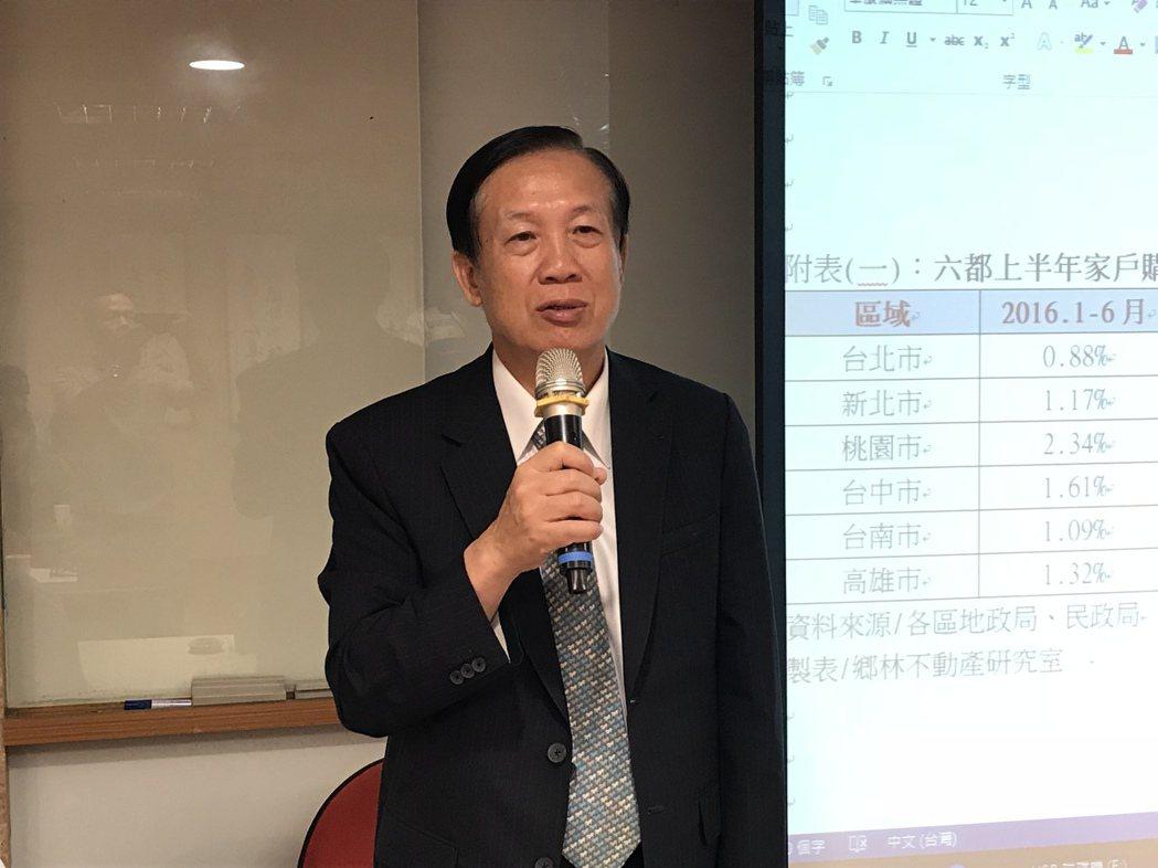全國商總理事長、鄉林集團董事長賴正鎰 記者游智文/攝影