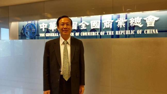 全國商總理事長賴正鎰表示。  記者陳美玲/攝影