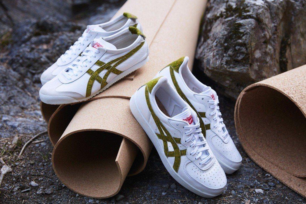 Onitsuka TigerMEXICO 66 軟木系列鞋,約3,300元。圖/...