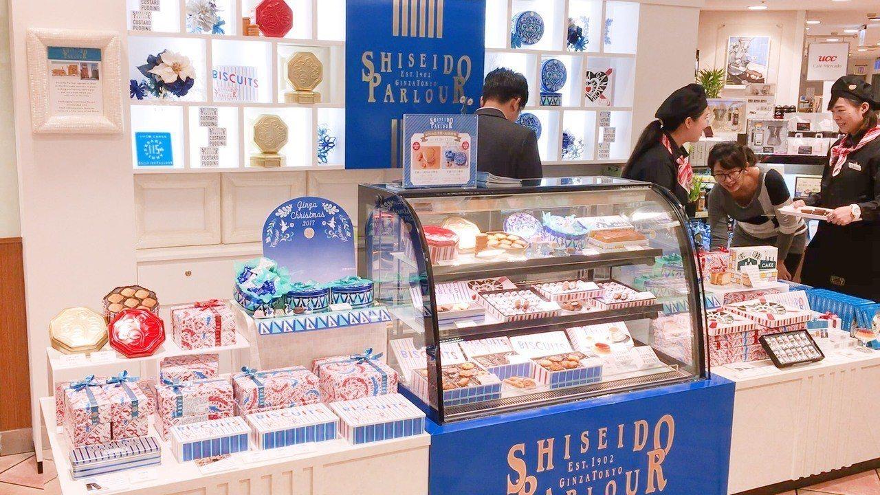 SHISEIDO PARLOUR去年耶誕檔期在忠孝SOGO快閃,二周創造500萬...