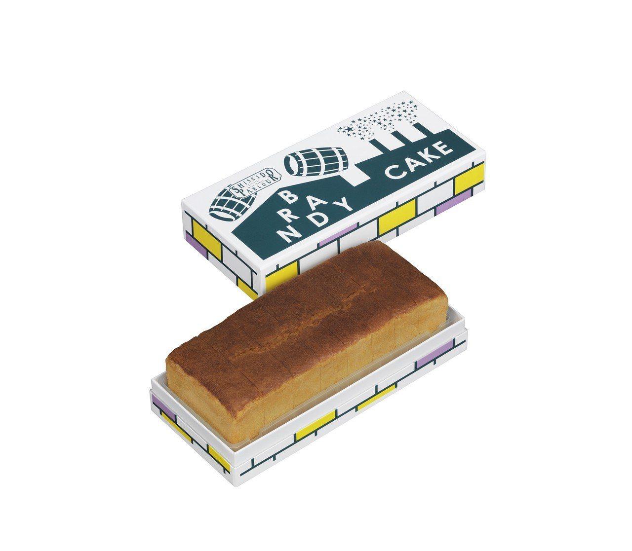 SHISEIDO PARLOUR白蘭地蛋糕約1,045元。圖/SOGO提供