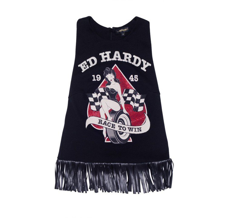 Ed Hardy服裝及帽款全面0.5折起。圖/Breeze Couture提供
