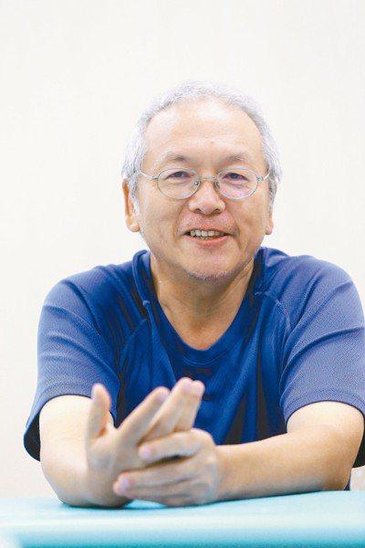 病友陳全勇。 記者邱德祥/攝影