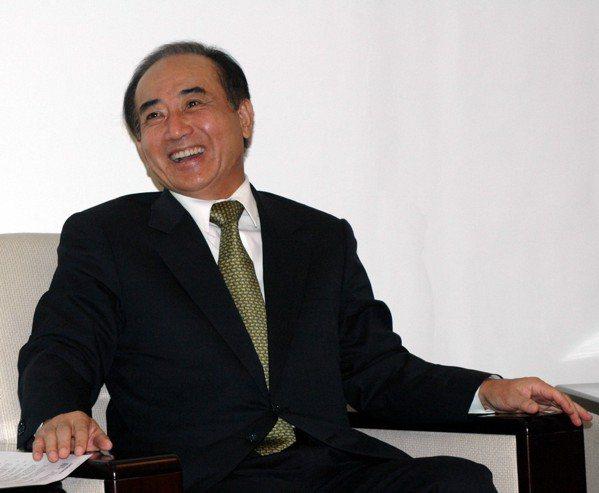 2005年,立法院長王金平,在生日當天宣布參選國民黨主席。 圖/聯合報系資料照片