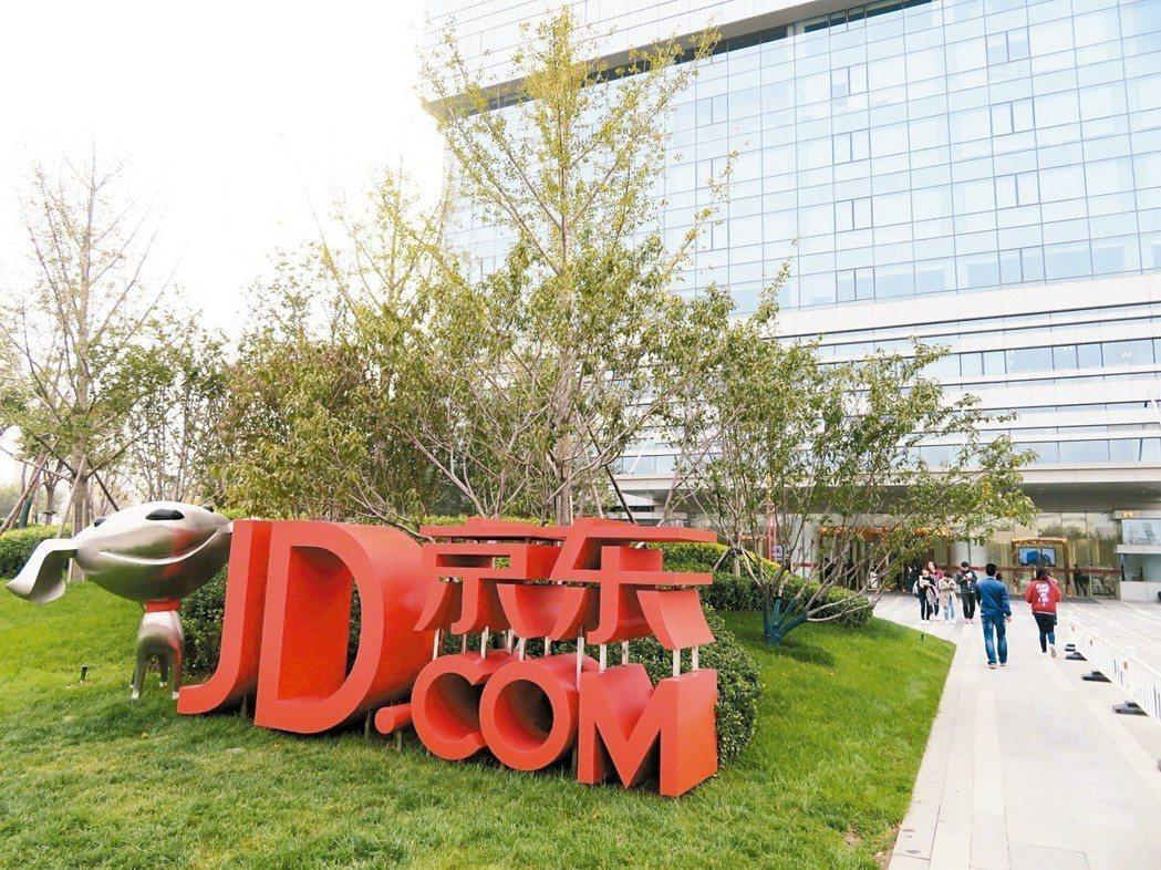 圖為京東集團位於北京的全球總部園區。 本報系資料庫、路透