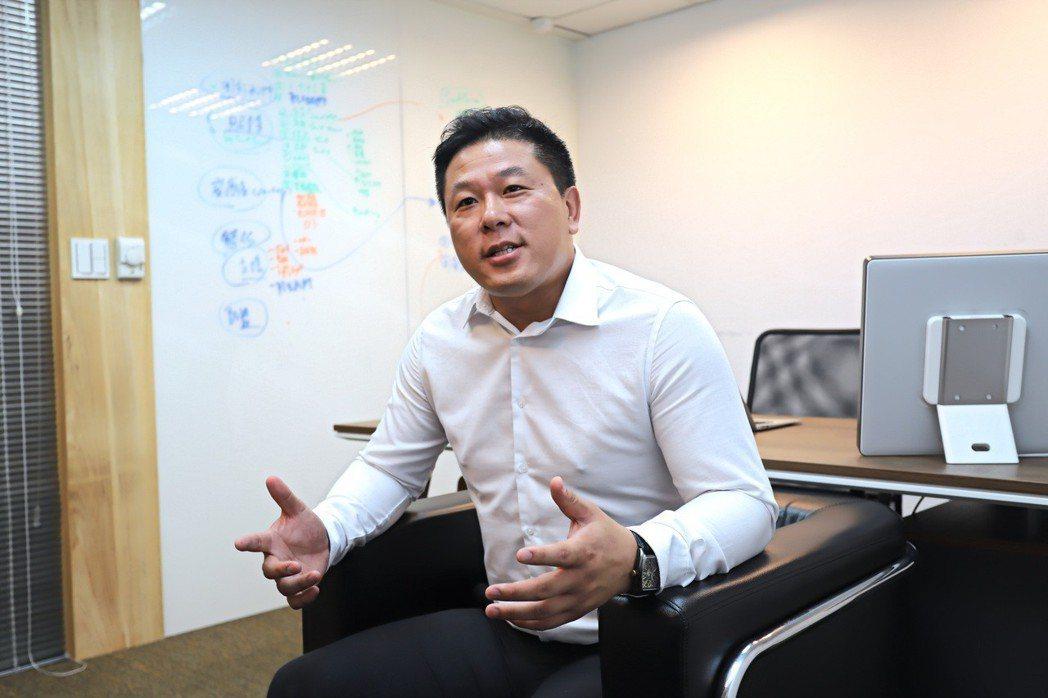 台灣博通軟體科技總經理暨學說公司董事長呂肇家。 彭子豪/攝影