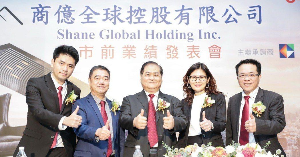 商億連三年各賺一個股本,圖中為董事長謝智通。 凱基證券/提供