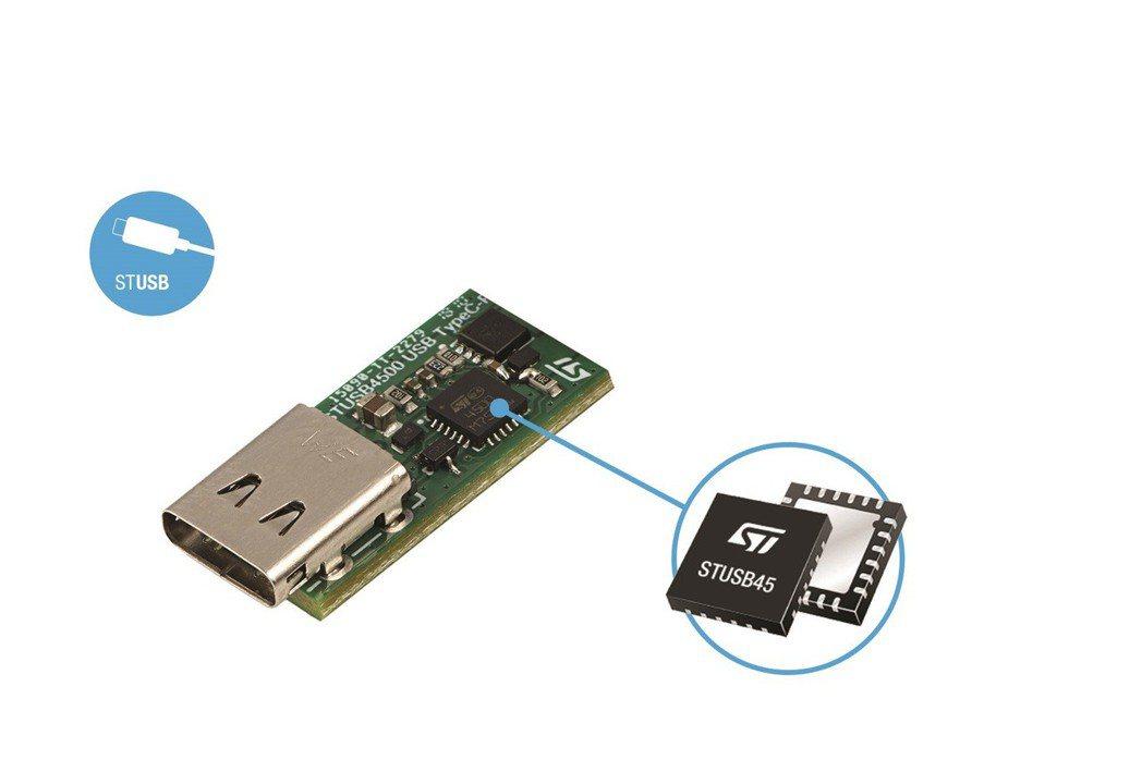 意法半導體獨立式USB Type-C電源控制器STUSB4500,讓設備快速、輕...
