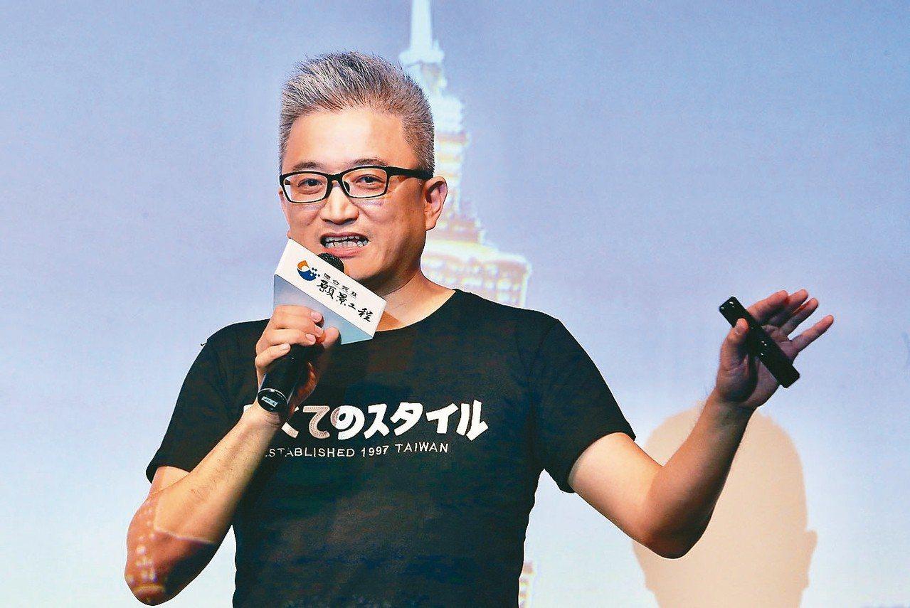 台灣人工智慧實驗室創辦人杜奕瑾在「AI論壇:從人工智慧到強化智慧」論壇演講時表示...