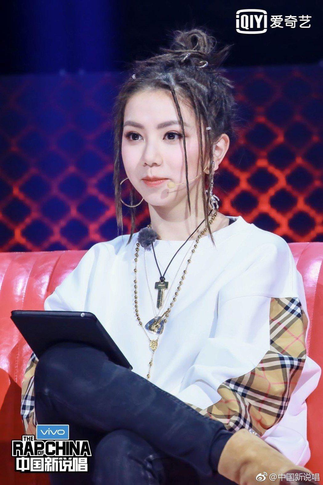 鄧紫棋是「中國新說唱」新一季製作人。 圖/擷自中國新說唱微博