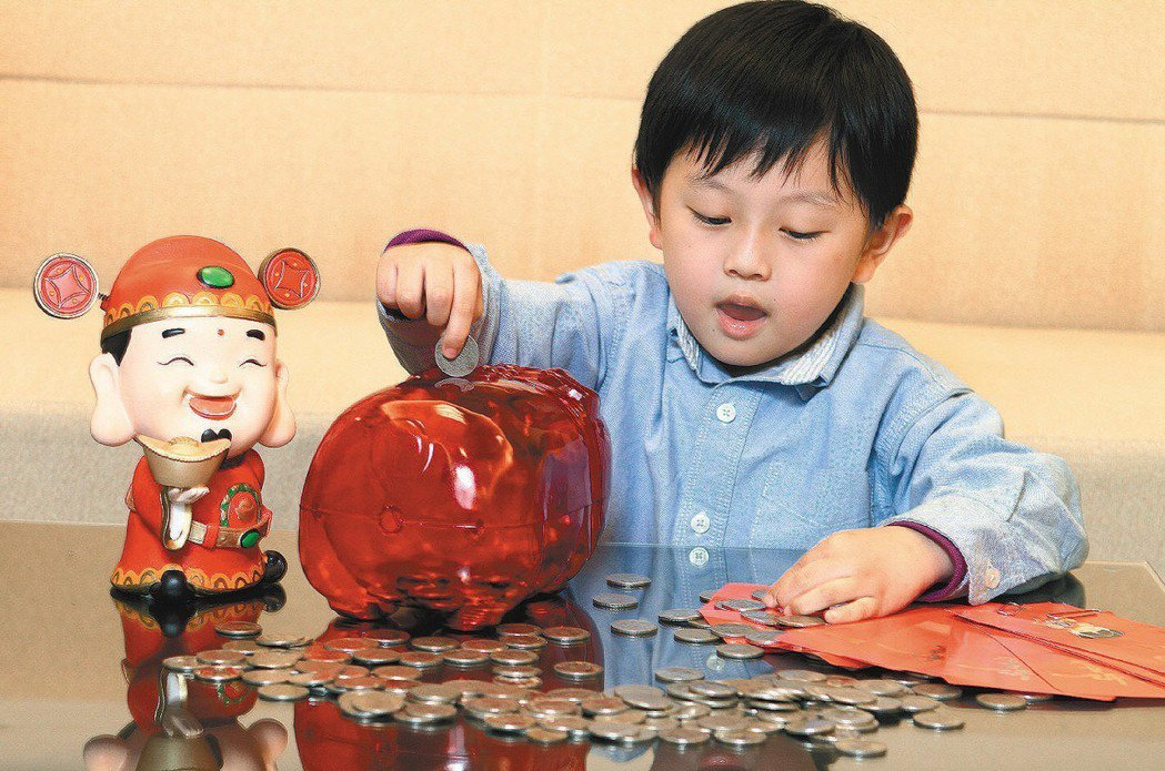 教小孩理財,通常建議先從儲蓄開始。 本報資料照片/記者陳柏亨攝影