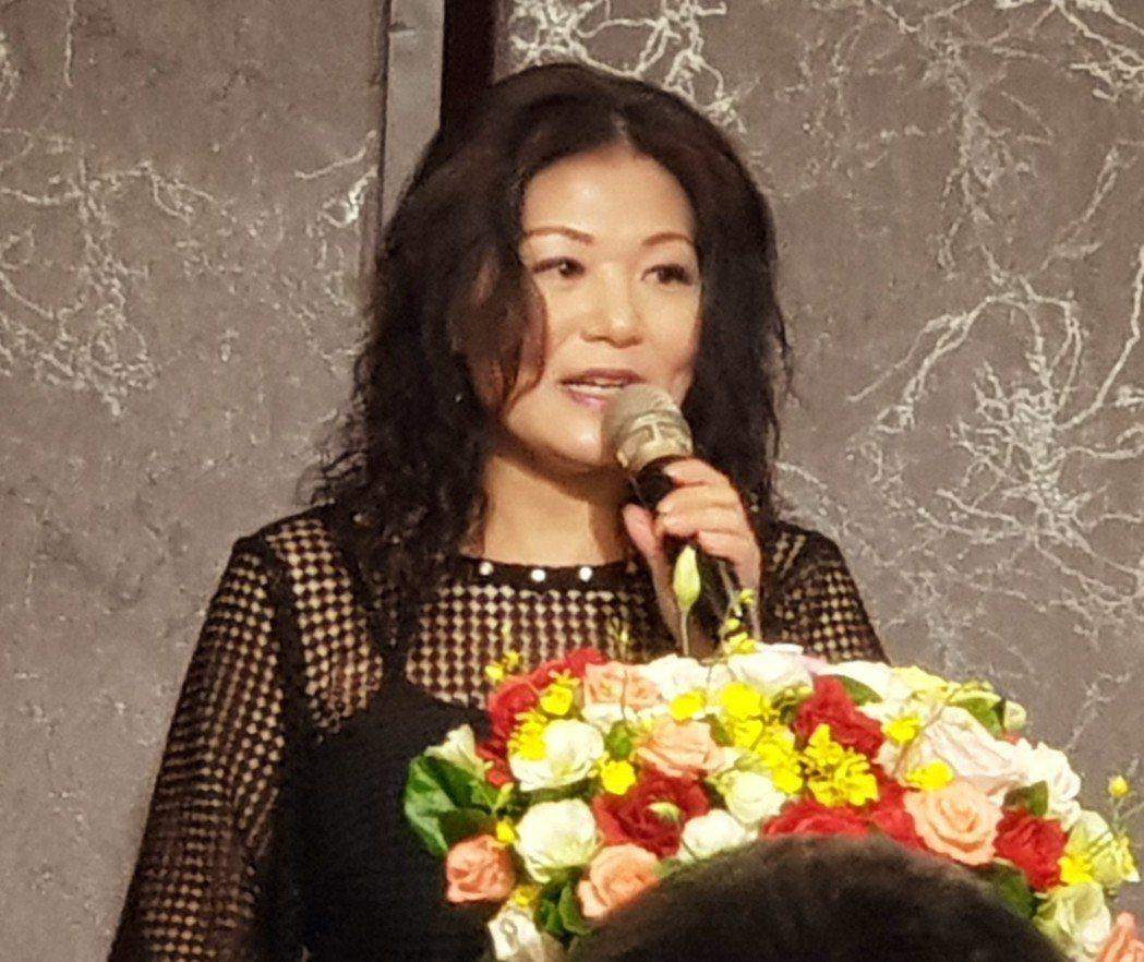 台灣區觀光協會聯合會理事長余紫菱。 戴辰/攝影