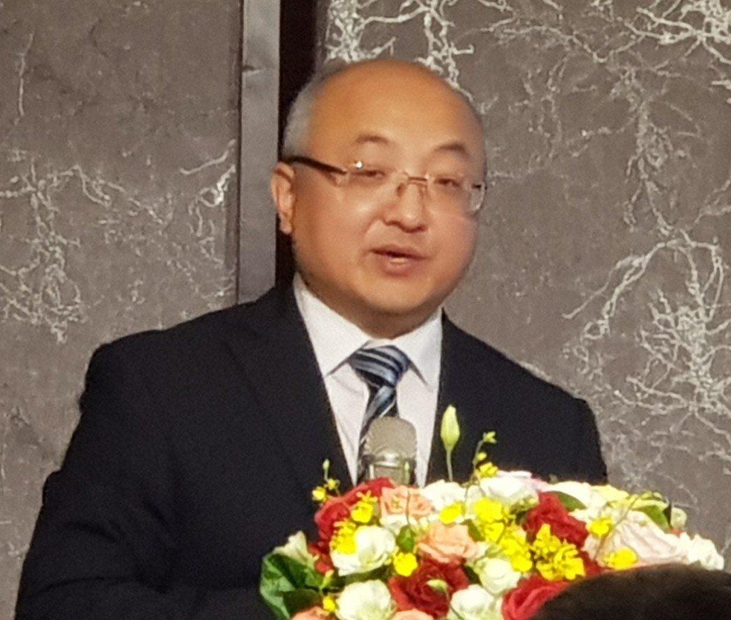 焦作旅遊推介會團長、焦作市旅遊協會副會長李建陽。 戴辰/攝影