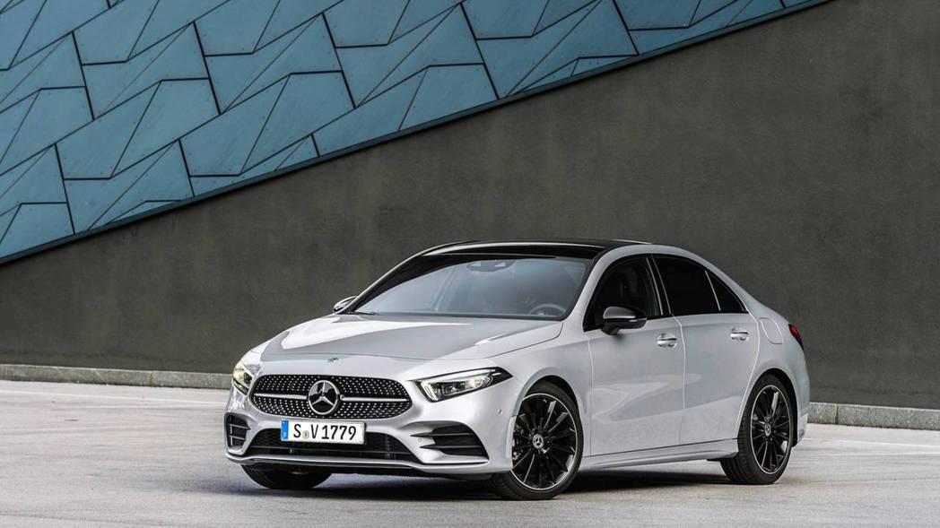 幾經評估,Mercedes-Benz決定將A-Class Sedan導入北美販售。 摘自Mercedes