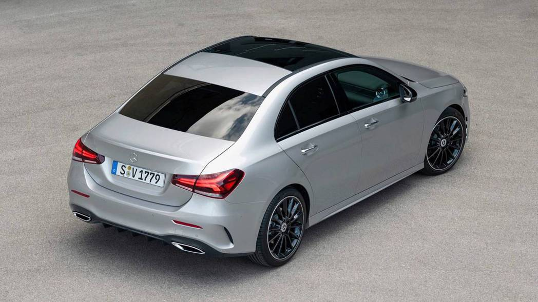 A-Class Sedan有望成為北美首輛未達百萬台幣等級的車款。 摘自Mercedes